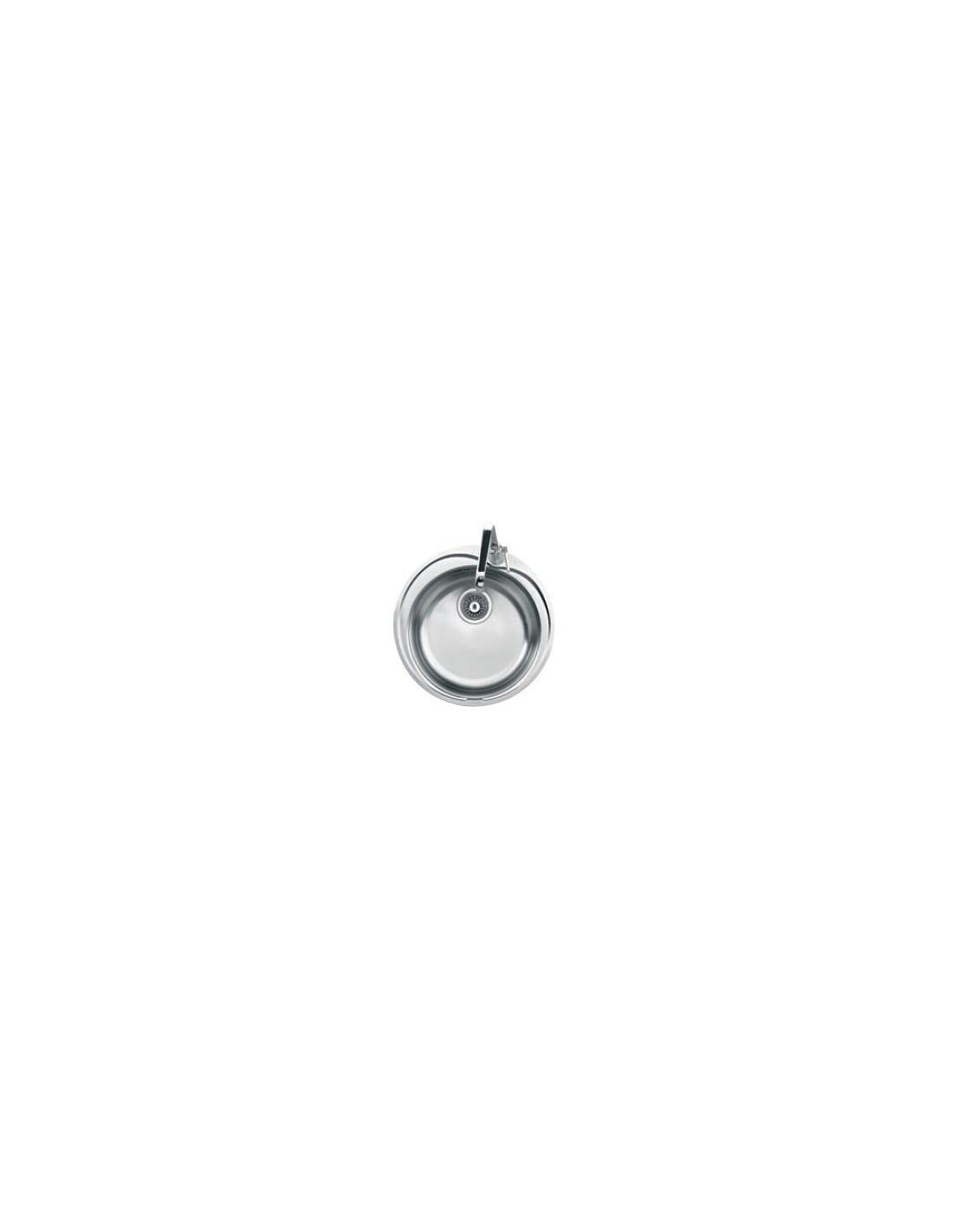 evier 1 cuve rotondo inox rox61051 frank 233
