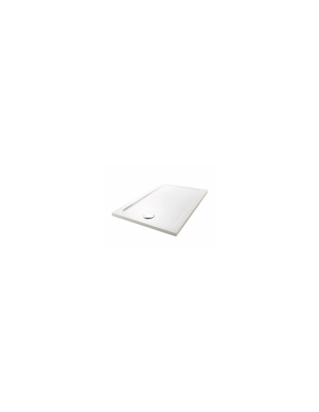 receveur extra plat rectangulaire rev tement antid rapant poser ou encastrer flight safe. Black Bedroom Furniture Sets. Home Design Ideas