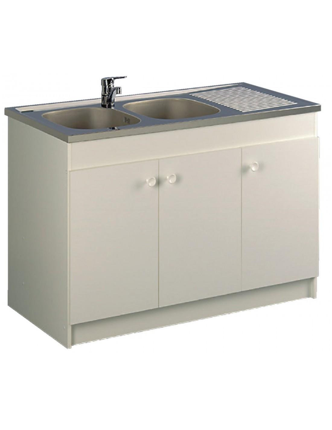 meuble sous vier leader hydrofuge aquarine. Black Bedroom Furniture Sets. Home Design Ideas