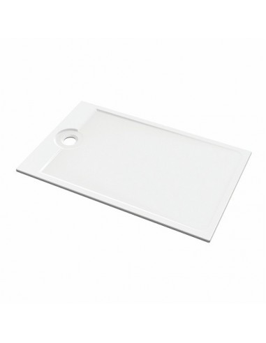 receveur de douche rectangulaire en c ramique ultra plat poser encastrer latitude allia. Black Bedroom Furniture Sets. Home Design Ideas
