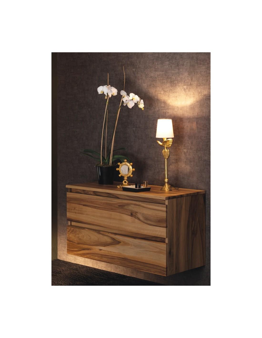 commode en noyer massif lignum sanijura. Black Bedroom Furniture Sets. Home Design Ideas