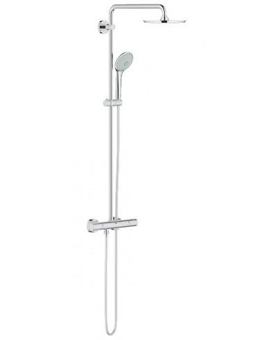 colonne de douche euphoria xxl 210 avec mitigeur thermostatique grohe. Black Bedroom Furniture Sets. Home Design Ideas