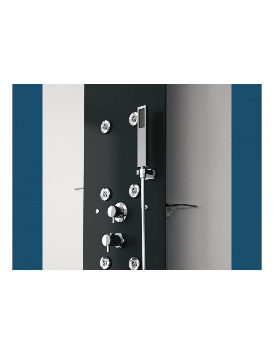 colonne de douche aquaglass couleur kinedo. Black Bedroom Furniture Sets. Home Design Ideas