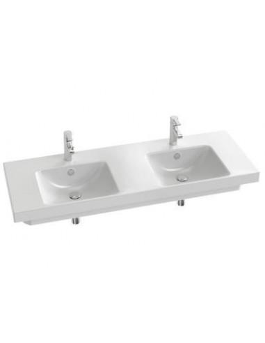 dc53b36be41ec ... Plan vasque double en céramique odeon up 140cm jacob Delafon. Previous