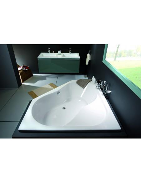 baignoire d 39 angle en toplax inoa allibert. Black Bedroom Furniture Sets. Home Design Ideas