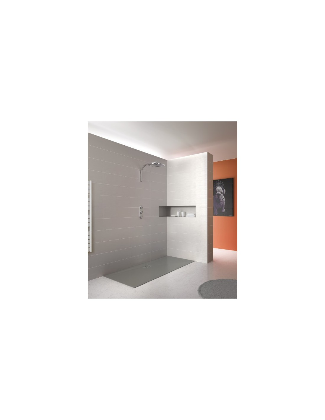 receveur rectangulaire kinesurf kinedo. Black Bedroom Furniture Sets. Home Design Ideas