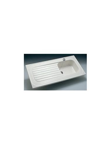 Evier A Poser Ceramique Special Lave Vaisselle Royat Allia
