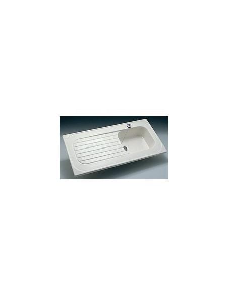 evier poser c ramique sp cial lave vaisselle royat allia. Black Bedroom Furniture Sets. Home Design Ideas