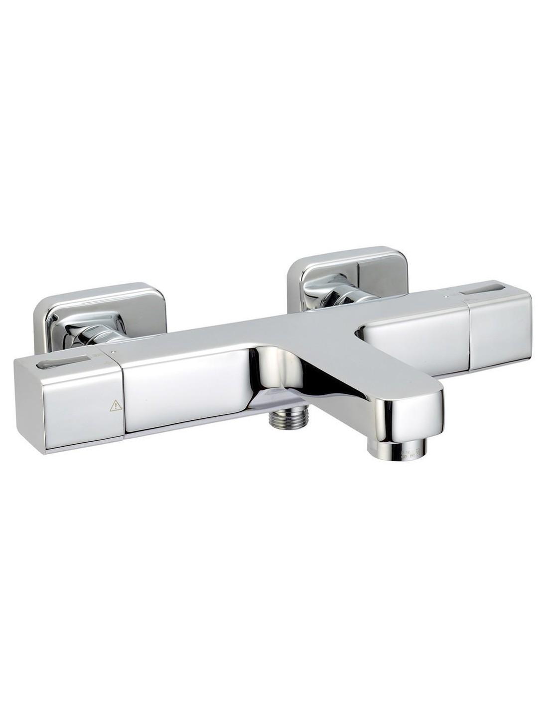 Mitigeur thermostatique bain douche domino 3 alterna - Mitigeur thermostatique bain douche pas cher ...