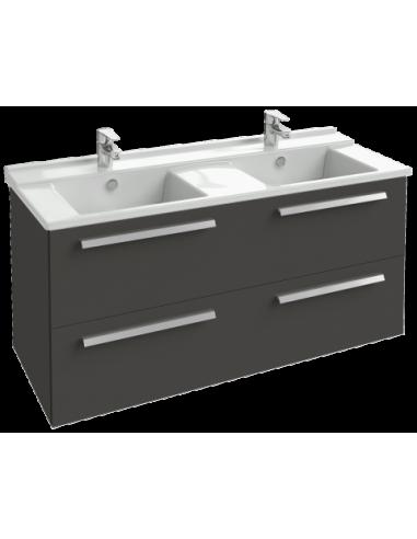 meuble 2 tiroirs sous plan vasque 117cm struktura jacob delafon. Black Bedroom Furniture Sets. Home Design Ideas