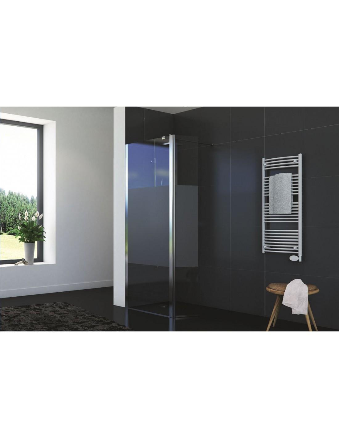 paroi de douche fixe volet flexible de 30 cm sabl e lyoraflex 30 saniweb. Black Bedroom Furniture Sets. Home Design Ideas