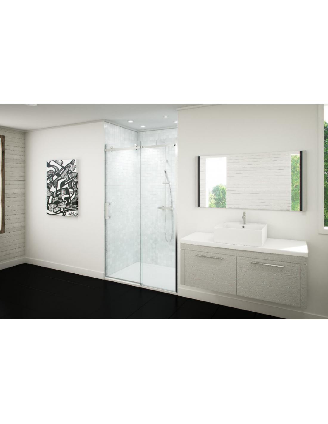 porte de douche coulissante hylia saniweb. Black Bedroom Furniture Sets. Home Design Ideas