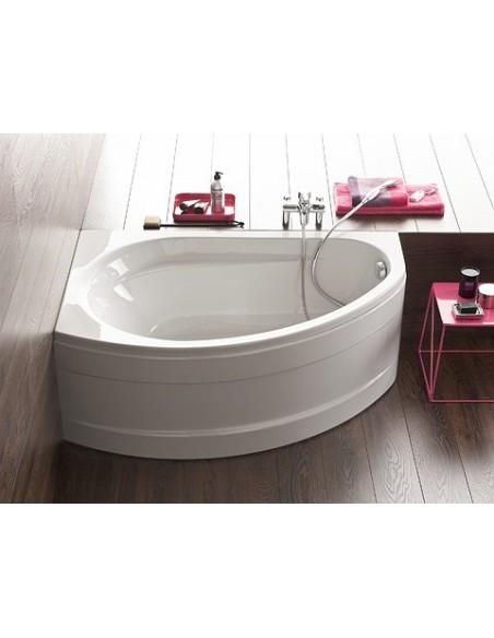 baignoire d 39 angle avec tablier prima style allia. Black Bedroom Furniture Sets. Home Design Ideas