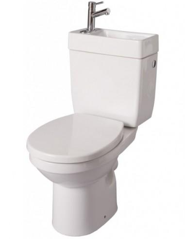 Pack WC avec lave-mains intégré Doppio 2 Alterna e7e2c8cafa06