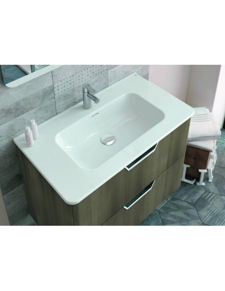 meuble vasque beauty life 100cm ensemble 8 bannio. Black Bedroom Furniture Sets. Home Design Ideas