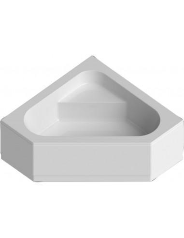 Baignoire D Angle Concerto 3 140 X 140 Cm Acrylique Blanc Alterna