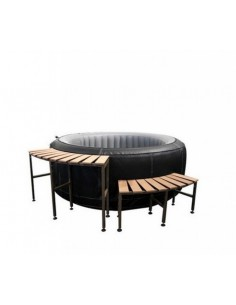 Ensemble mobilier pour spa gonflable rond Be Spa